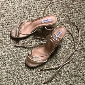 Steve Madden Lace Up Block Heels